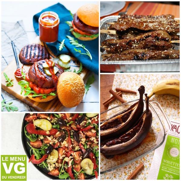 Menu VG du vendredi – Spécial barbecue