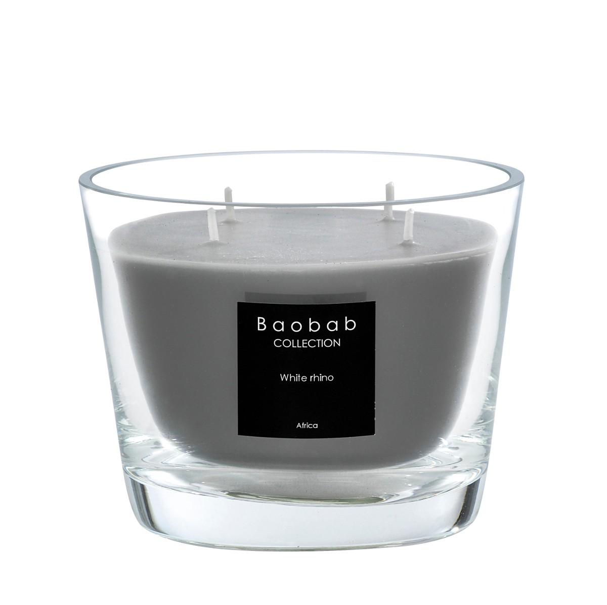 Bougie Baobab Paris Bougie White Rhino De Baobab Collection 4 Tailles