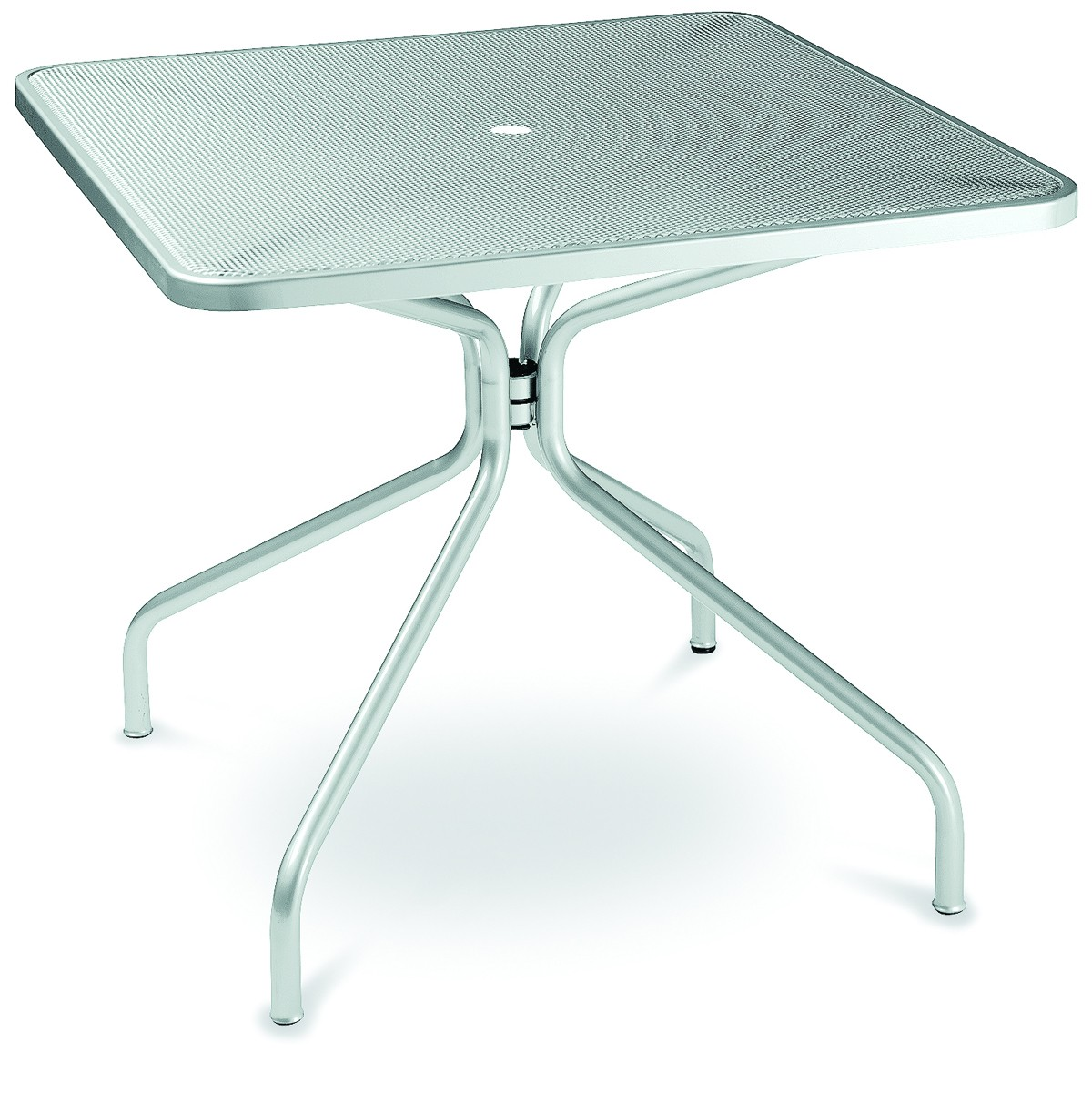 Table Carrée Aluminium Table Carrée Cambi De Emu Aluminium