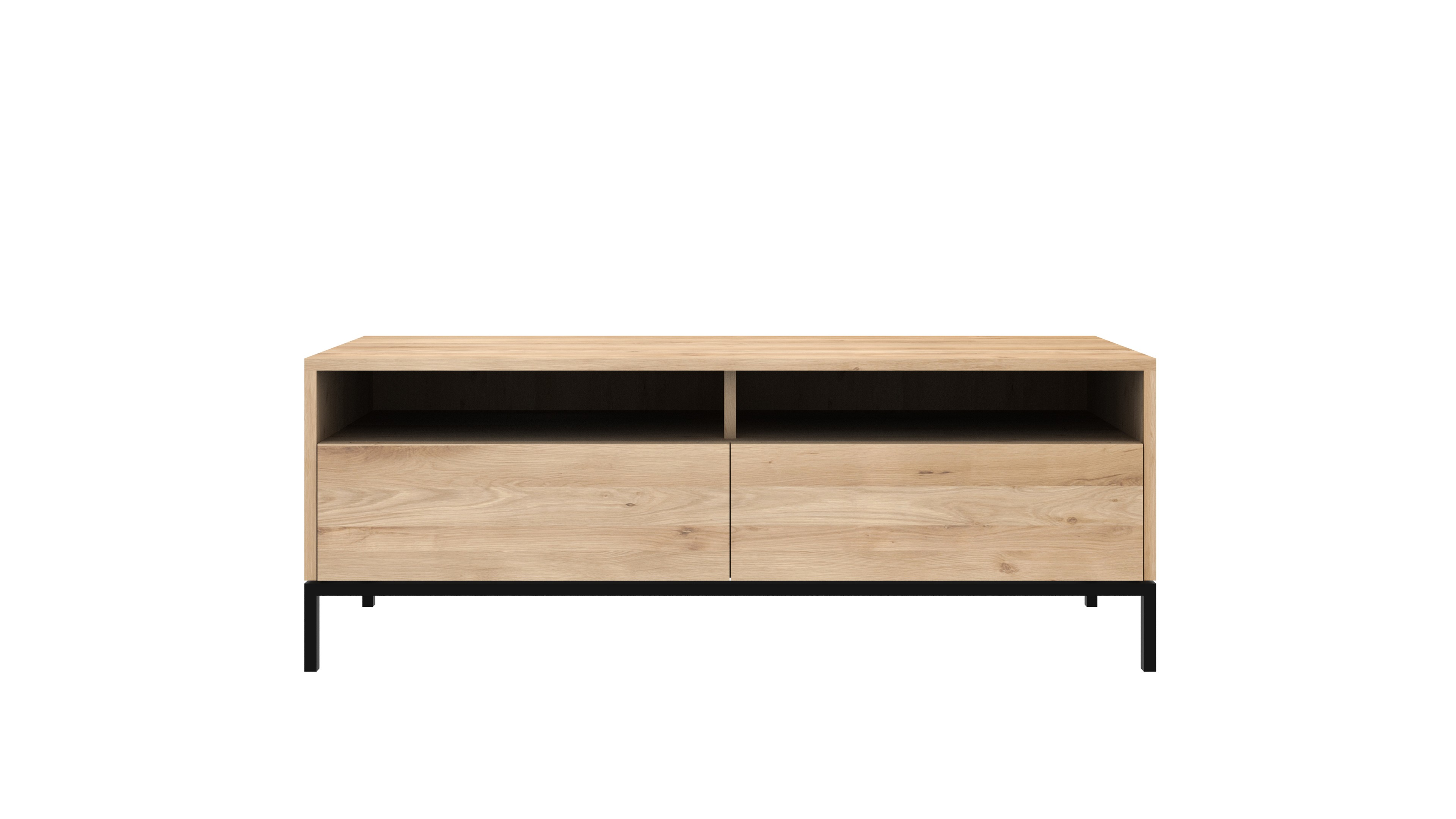 Ethnicraft Meuble Tv Meuble Tv Oak Ligna Ligna Black D Ethnicraft 2 Options 2 Tailles