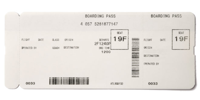 Making Fake Boarding Passes as Gifts - Le Chic Geek - printable fake airline tickets