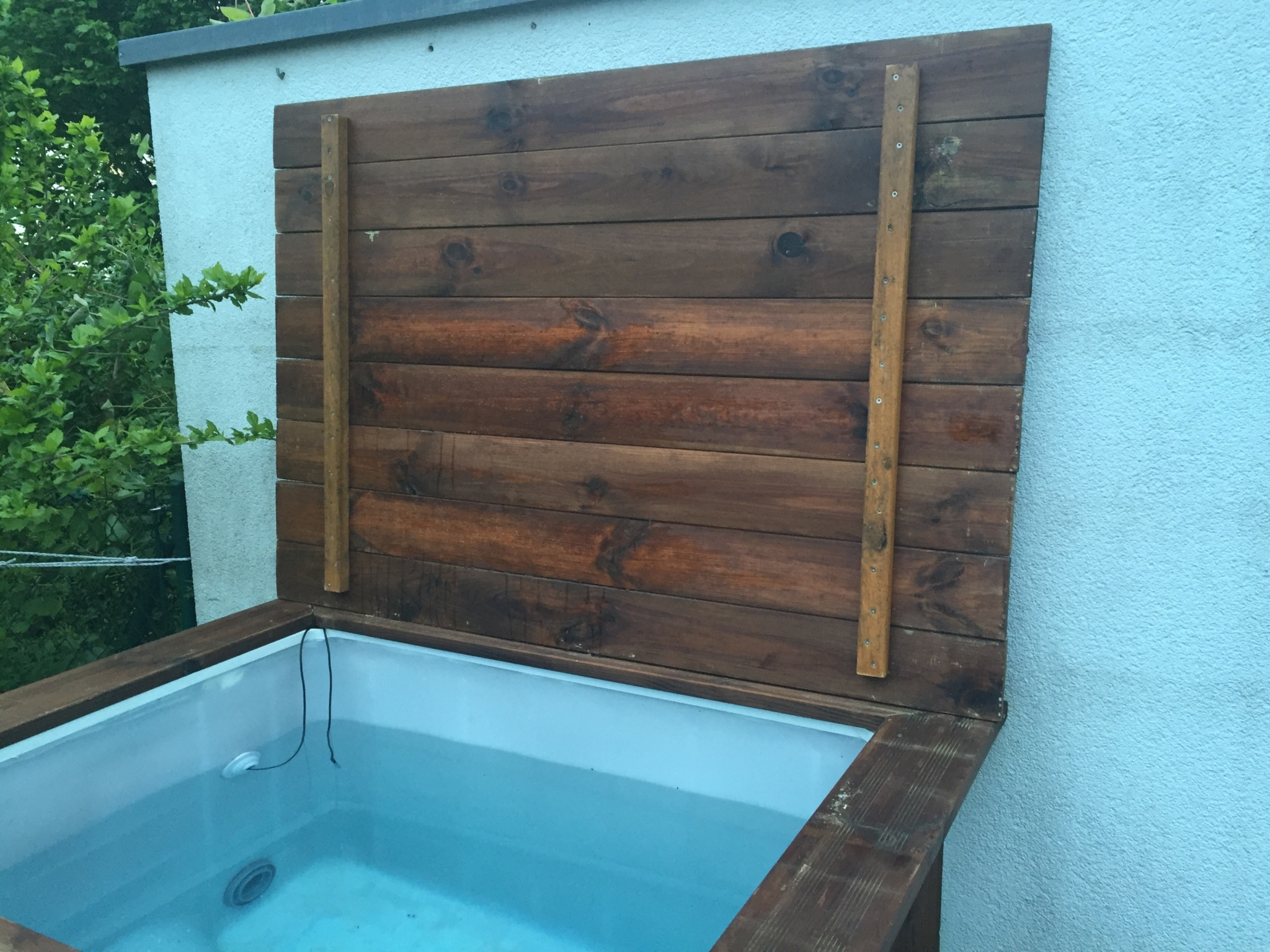 Pool Abdeckung Diy Diy Whirlpool Der Deckel Leckemojito You Are On The