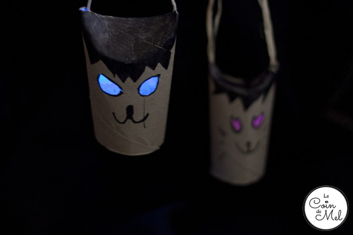 10 Minute Crafts for Halloween: (Not So) Scary Toilet Roll Cat Lanterns