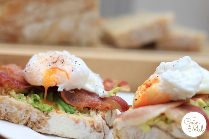 The Ultimate Bacon, Avocado & Poached Egg Sandwiches (& a Giveaway)