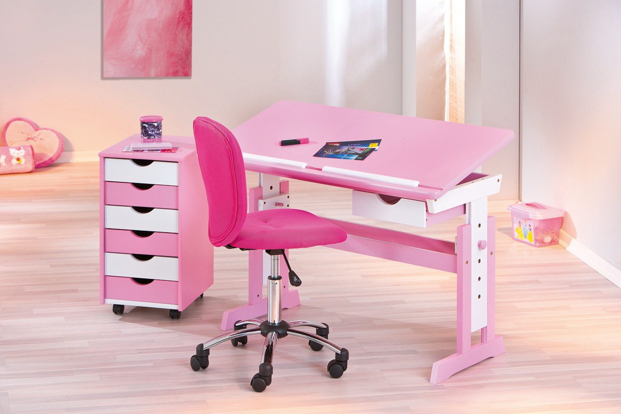 Bureau Rose Fille Chaise Bureau Fille Rose Le Coin Gamer