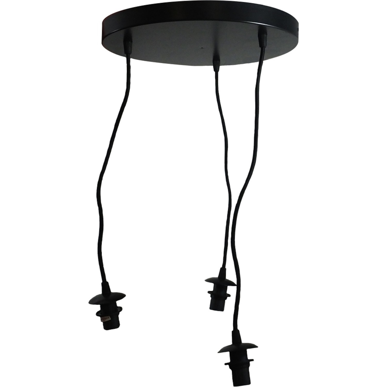 Lampe Suspension Sans Fil Suspension Basique 3 Lampes Sans Abat Jour