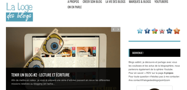 La Loge des Blogs