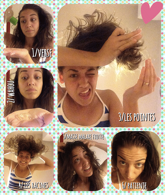 Un shampoing soin naturel