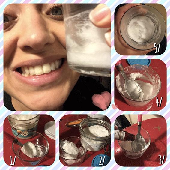 Recette du dentifrice maison