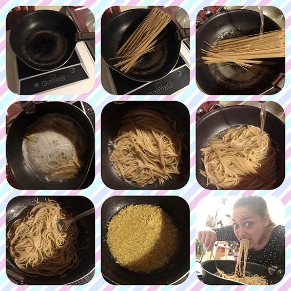 comment je cuis mes pâtes en mode radine