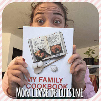 Mon livre de cuisine: My Family Cook
