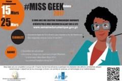 Affiche miss geek