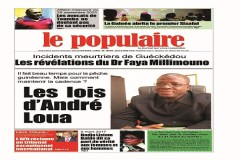 Le Populaire n°553 du lundi 20 mars 2017 Edition nationale & internationale