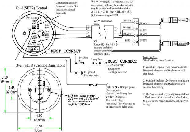 lenco actuator wiring diagram