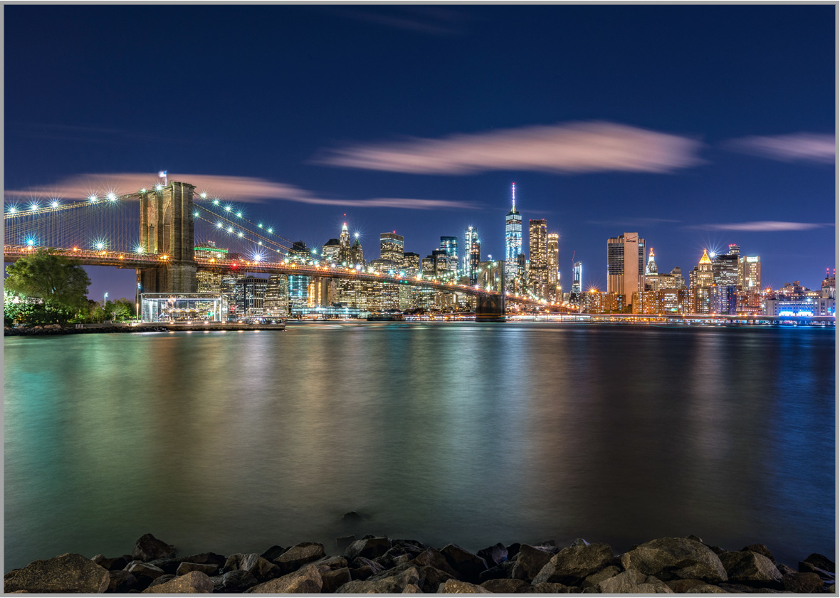 New York Bilder Led Bild Nyc Skyline New York