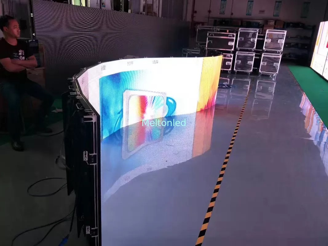 Led Wall China Outdoor P3 91 P4 81 Led Video Wall Rental Curved Led Screen