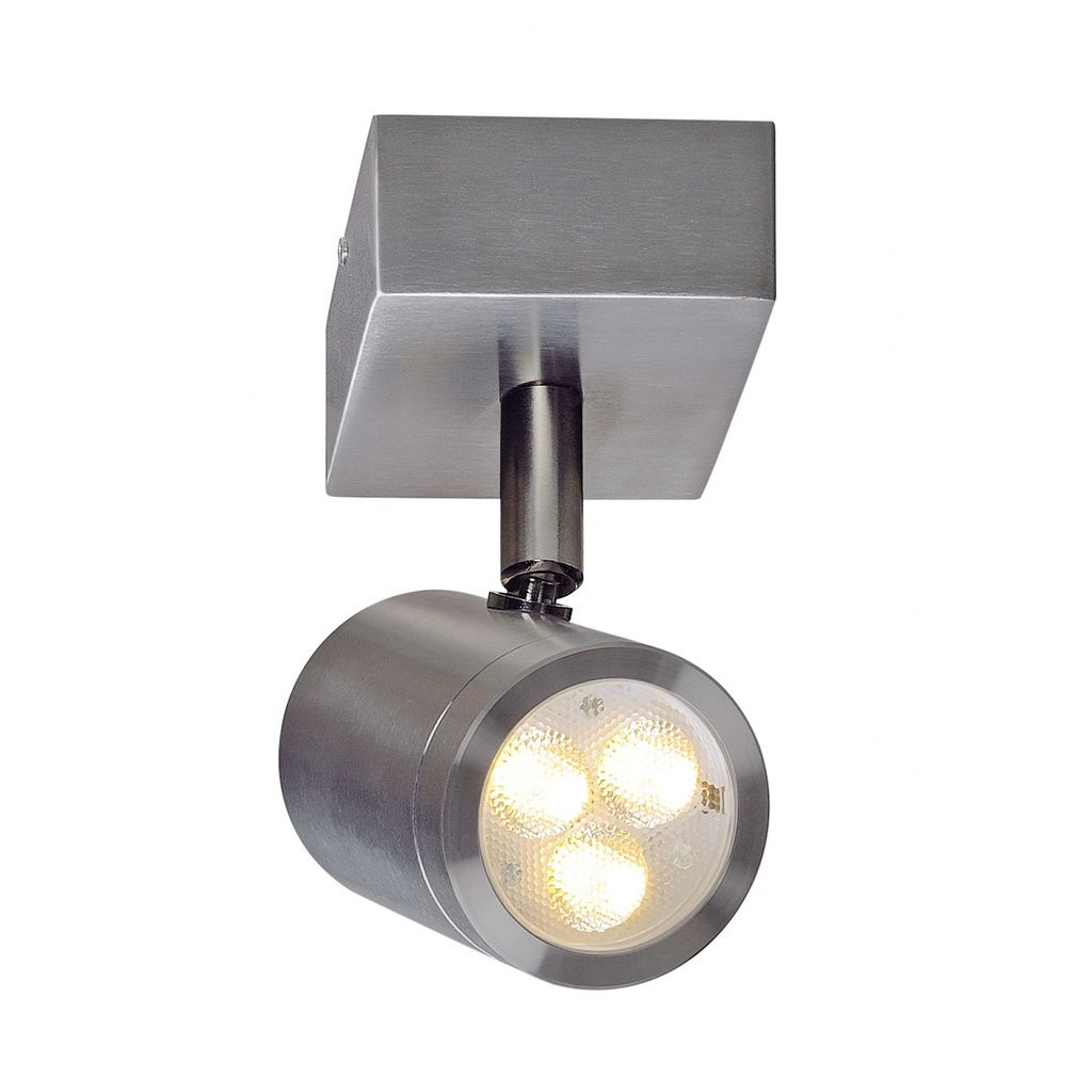 Wandleuchte Led Spot Slv 233310 Sst 316 Led Single Spot Wandleuchte Ip44 3w