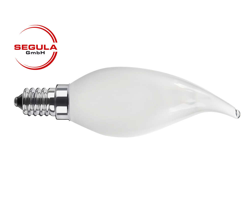 E14 Dimmbar Led Filament Kerze Windstoss Segula 50343 E14 3 5w Ca 25w 2600k Dimmbar
