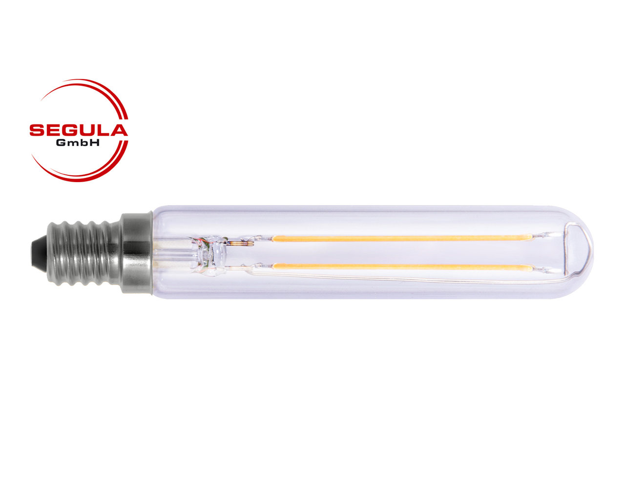 Led Dimmbar E14 Led Filament Tube Segula 50679 E14 2 7w Ca 25w 250lm 2600k Klar Dimmbar
