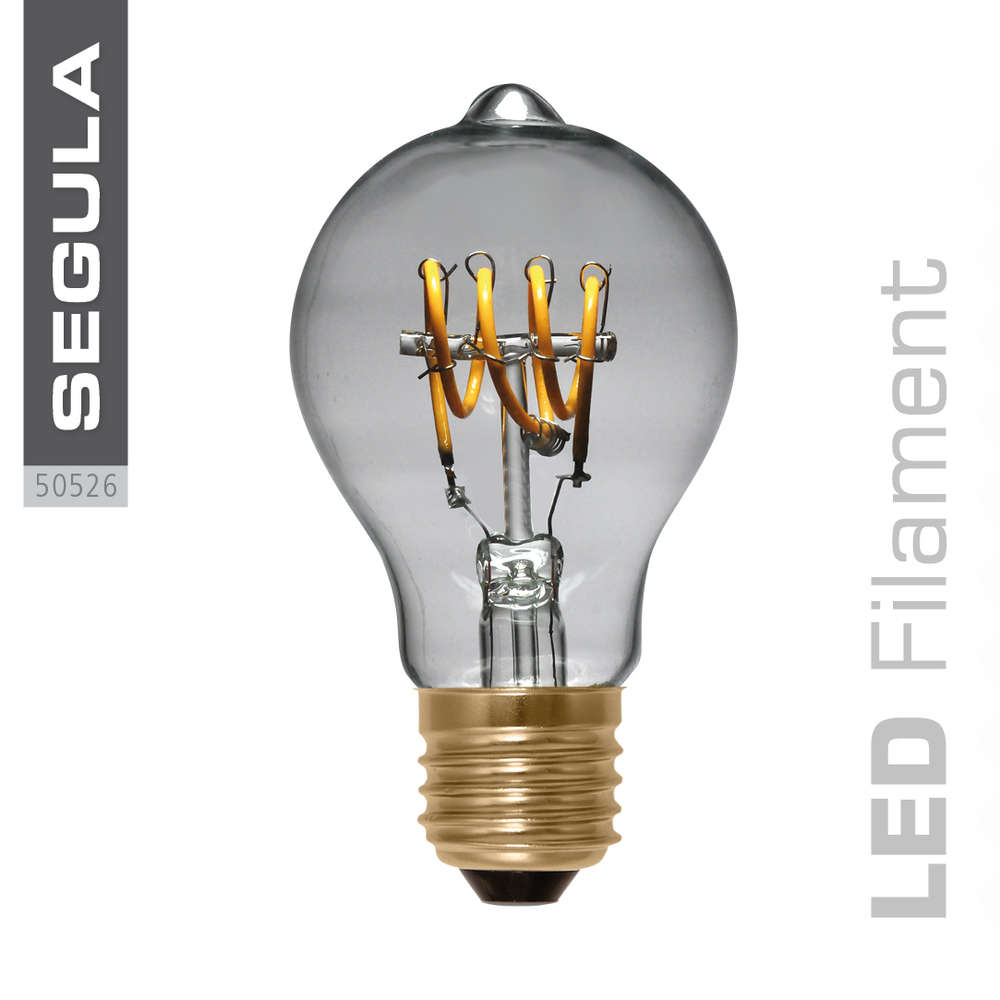 Led Dimmbar E27 Led Filament Birne Curved Segula 50526 E27 4w Ca 15w 140lm 2200k Dimmbar