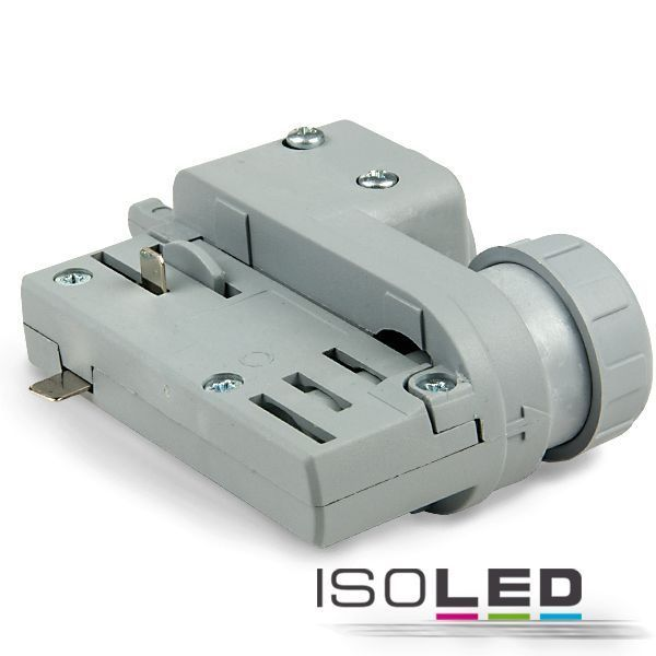 Led Birnen G9 3-phasen Adapter Silber Isoled Für Eutrac & Global Schienen
