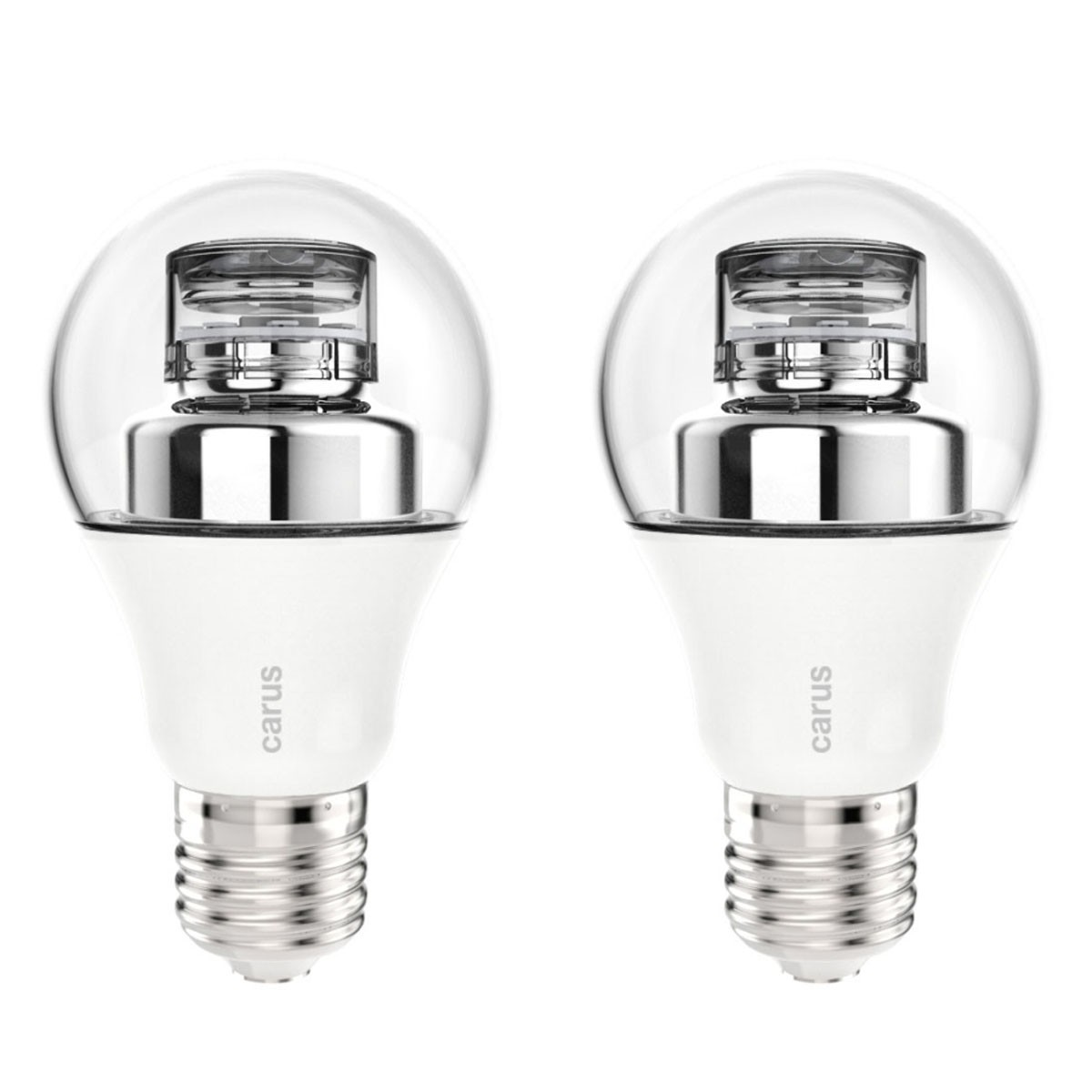 Led Lampen Dimmbar Carus Led Lampe Klar E27 8 6w 48w 600lm Ip50 Warm Weiß 2700k Dimmbar Germany 2er