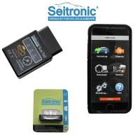 Seitronic OBD2 KFZ Auto Diagnosegert mit Bluetooth fr