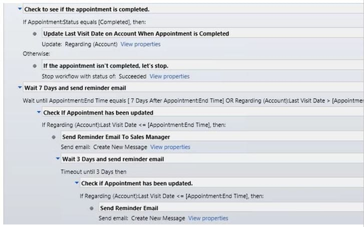 Setting Up a Sales Follow-up Workflow in Dynamics CRM Ledgeview - follow sales