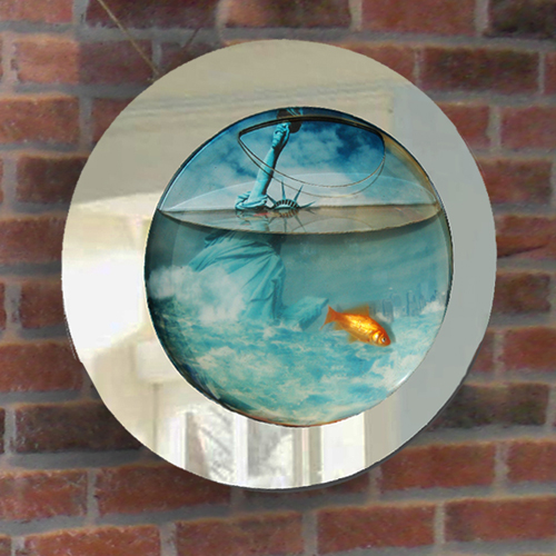 Decoration De Maison Pas Cher Aquarium Mural | Science & Nature | Le Dindon