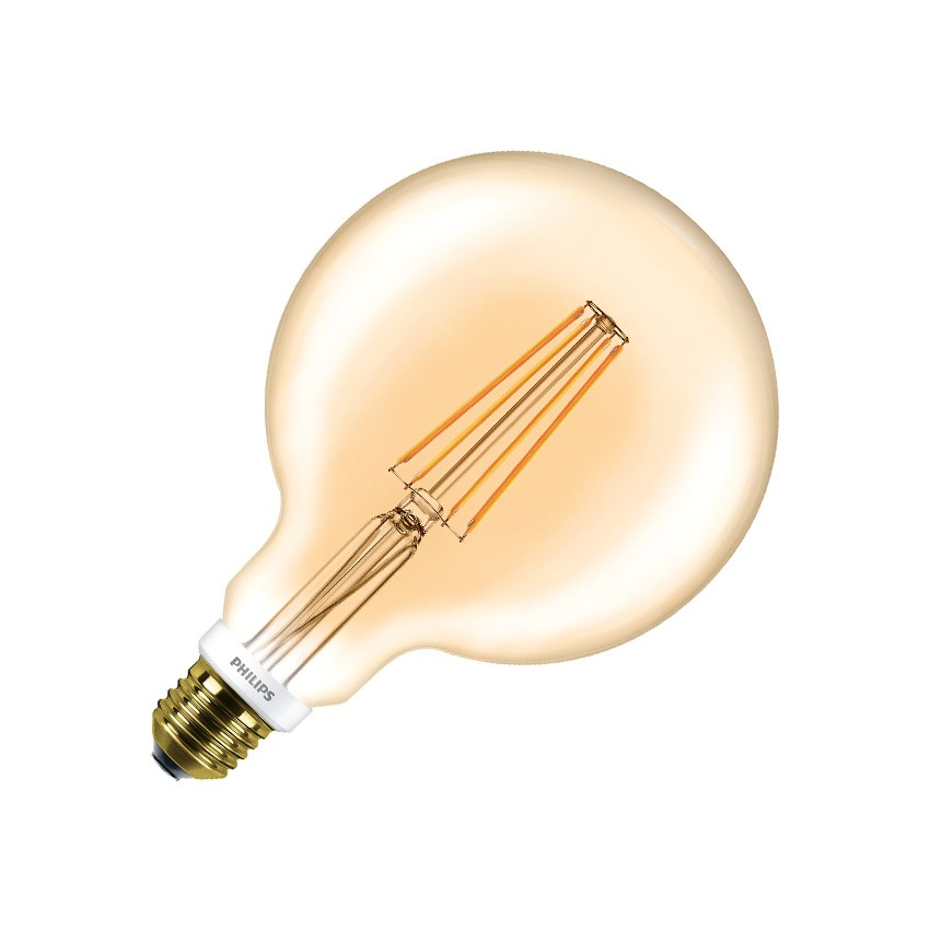éclairage Industriel Led Philips Ampoule Led E27 G120 Philips Dimmable Filament Globe Cla