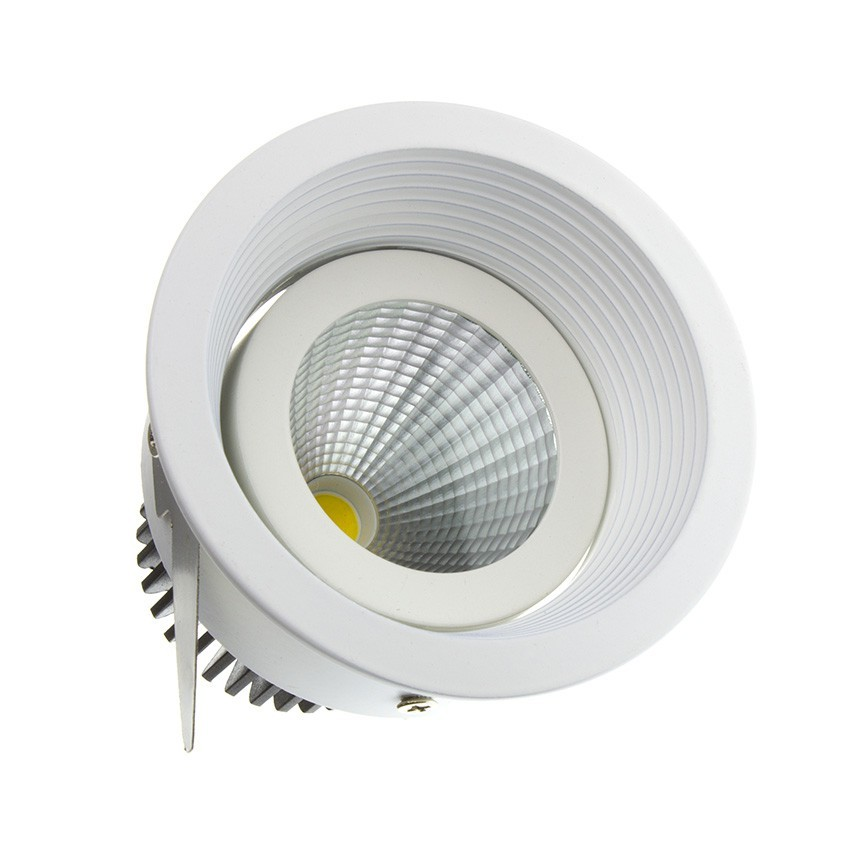 Spot Led Downlight Orientable H Cob 7w Ledkia France - Spot Led Video