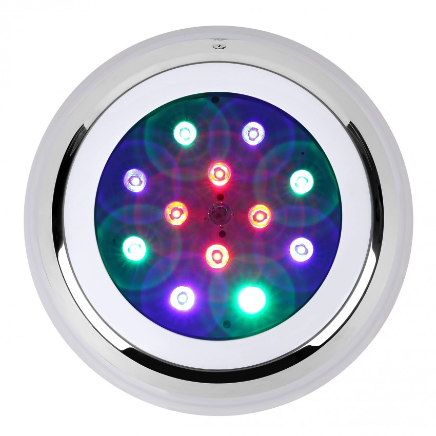 éclairage De Secours Led Spot Led Piscine En Saillie Rgbw 24w - Ledkia France