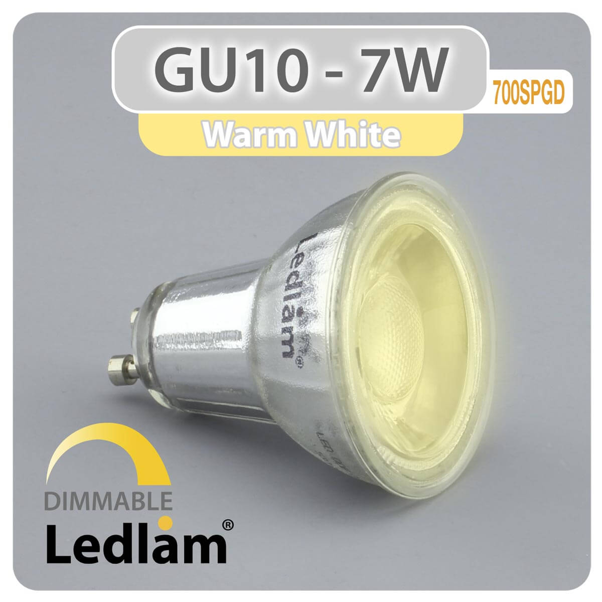 Led Spot Gu10 Gu10 Led Spot Light 7w 700spgd Dimmable
