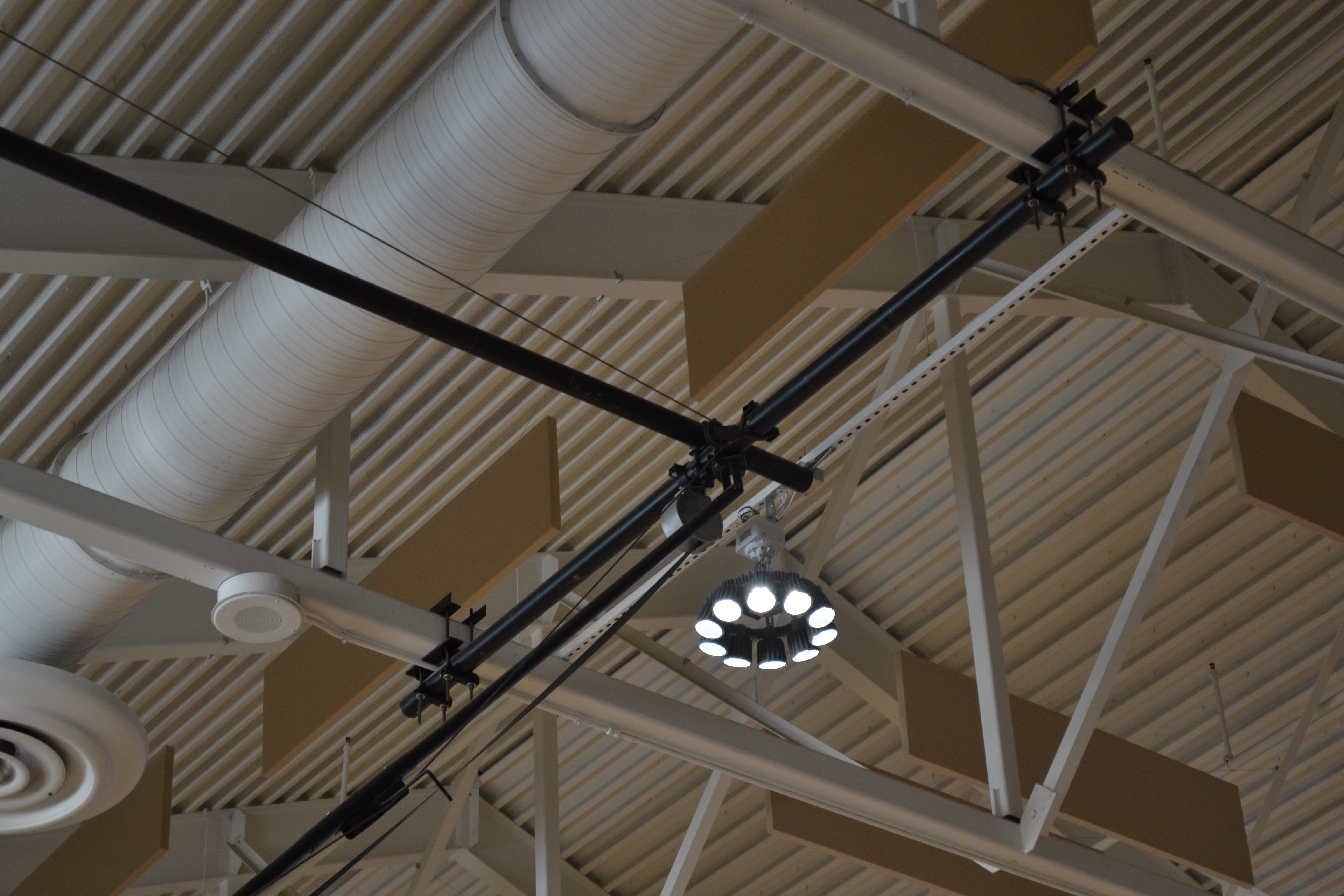 Lighting Fixtures Saving Money With Led Gym Lighting Fixtures Led Light Power