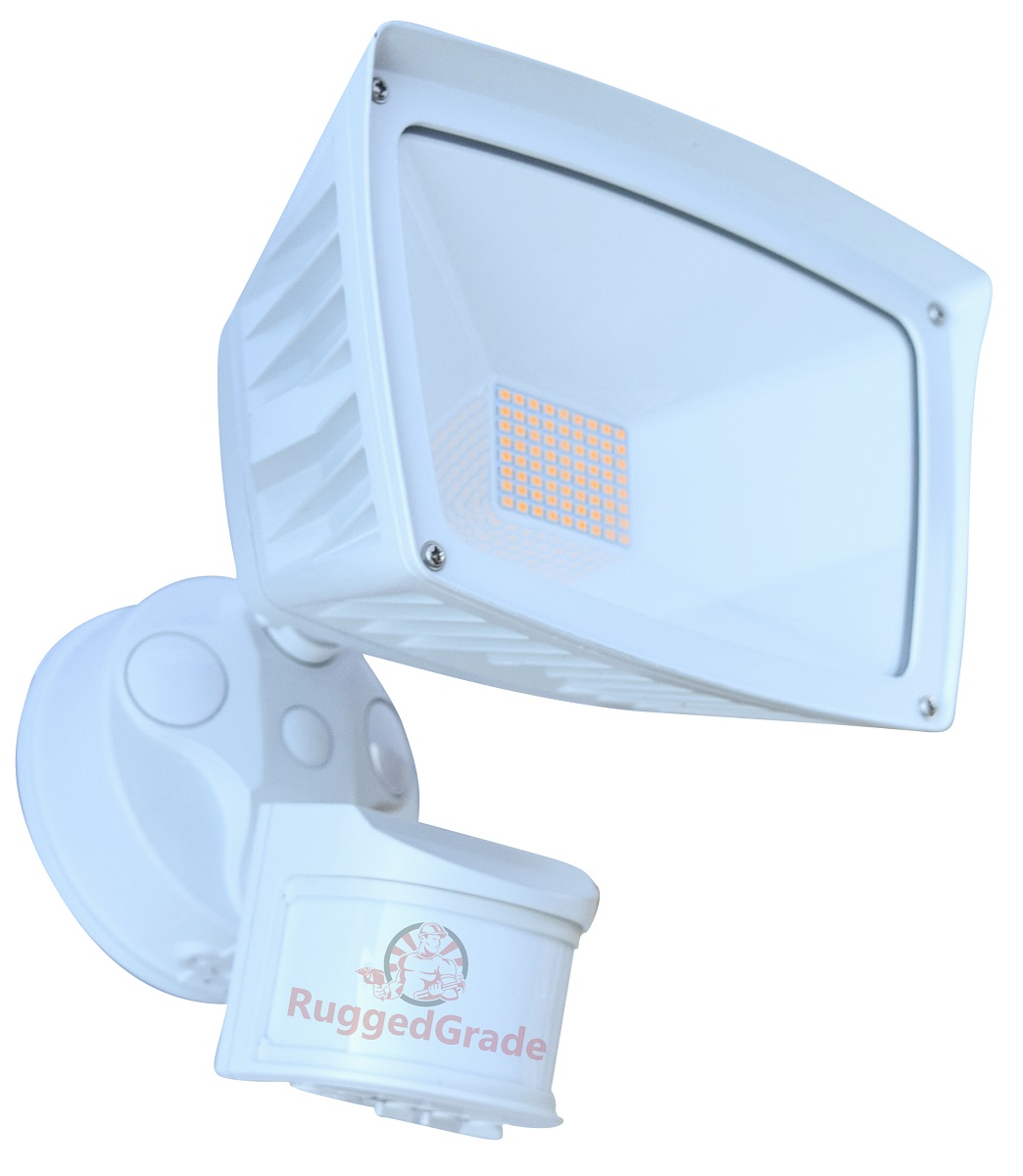 40 Watt Led 40 Watt Led Motion Sensor Flood Light 4 800 Lumens Led Flood Light 3000k White