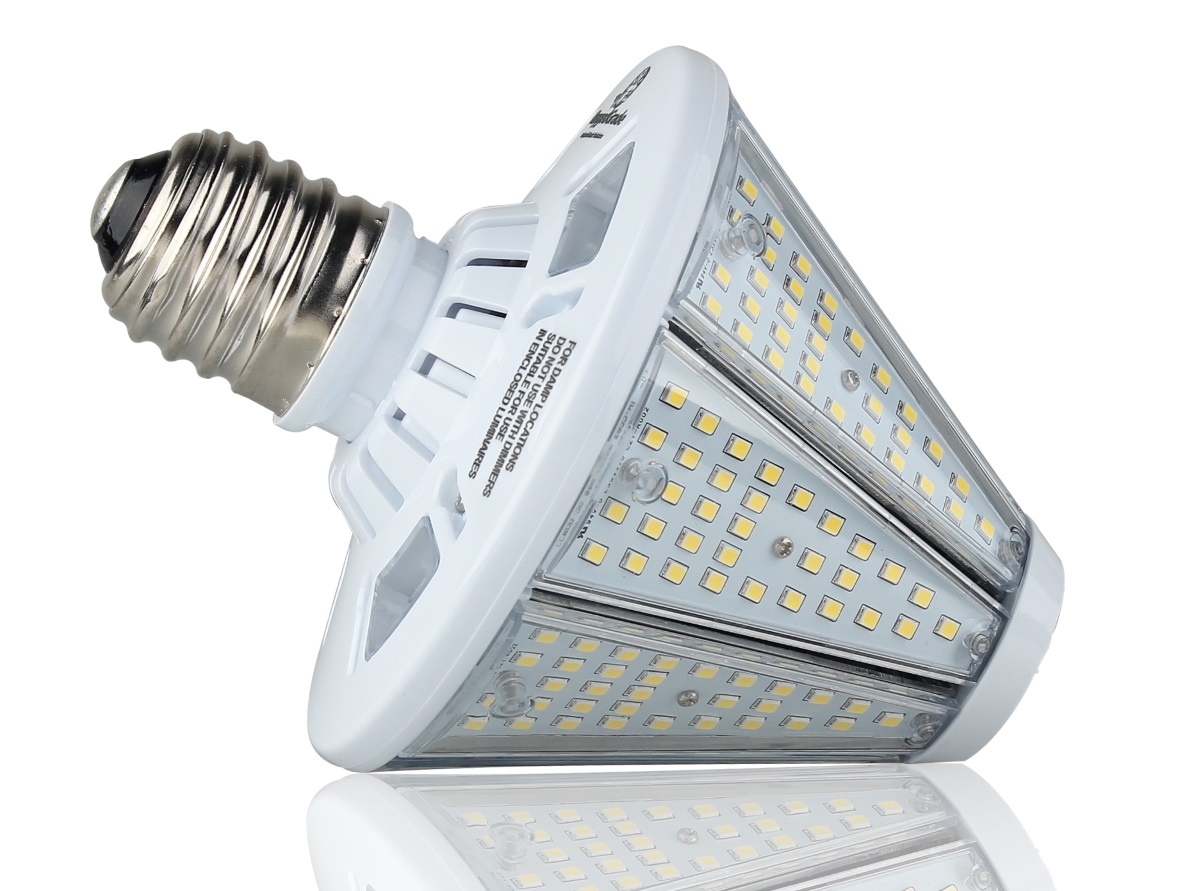 Reversible 6 000 Lumen 50 Watt Post Top Bulb Led High B