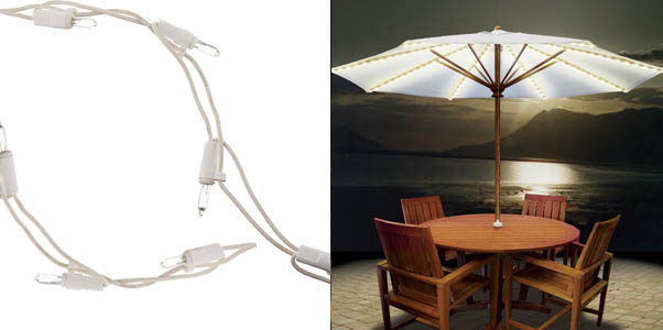 Best Patio Umbrella Lights For Outdoors Incl Solar