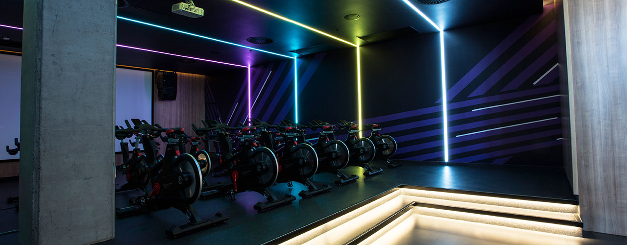 Led Culture Indoor Virgin Active Silo V&a - Cape Town — Led Lighting Sa : Led