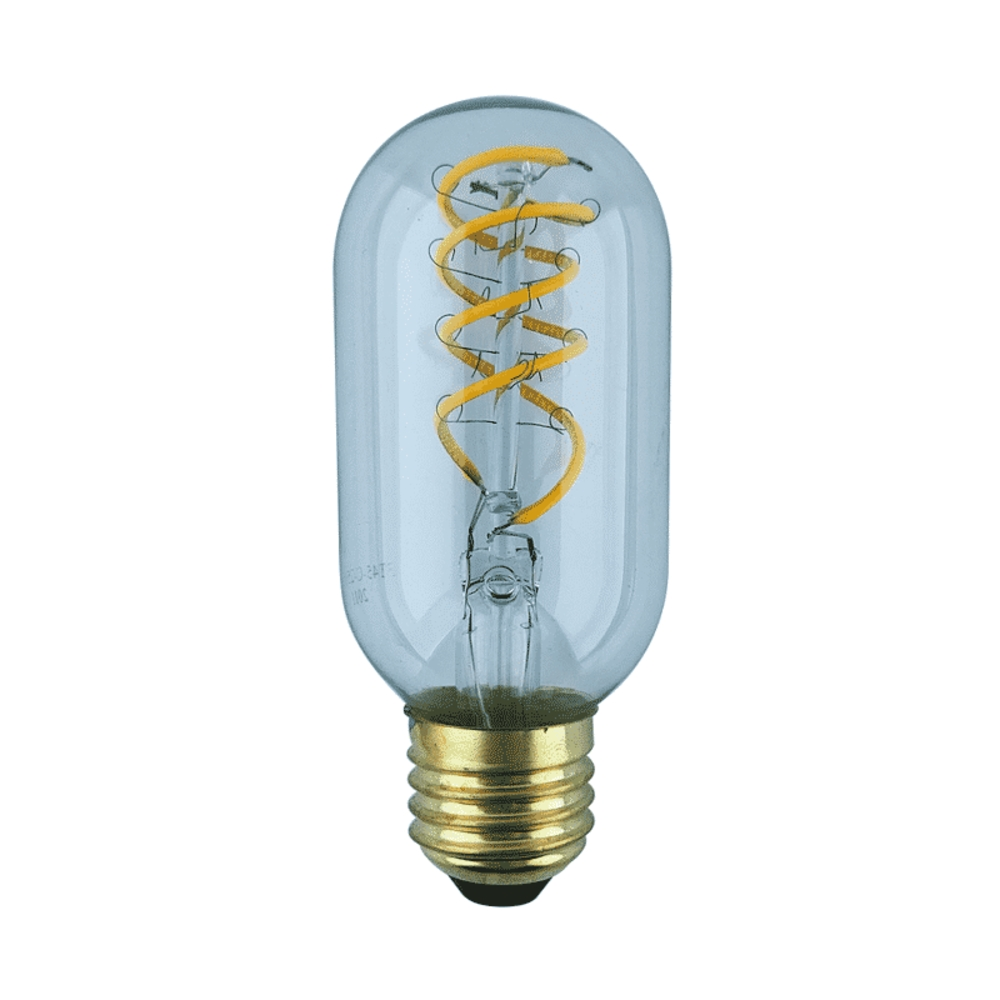 Led Spiraal Tube Lamp 4w Tubular Gold Glas Dimbaar 2500k