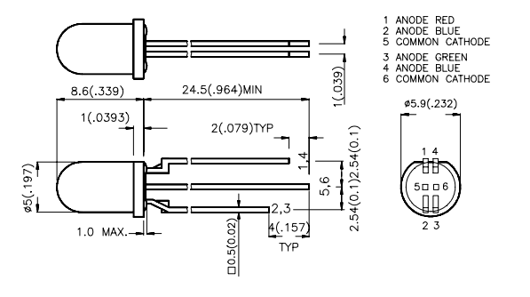 4 pin led wiring diagram picture
