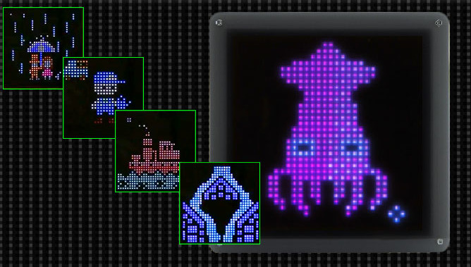 Pixel Led Art A Platform For Led Pixel Art