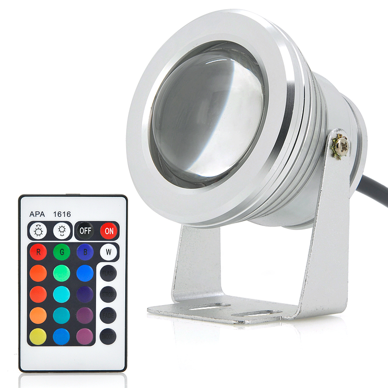 Spotlight Lampa 10w Outdoor Led Flood Light - Rgb Color Changing