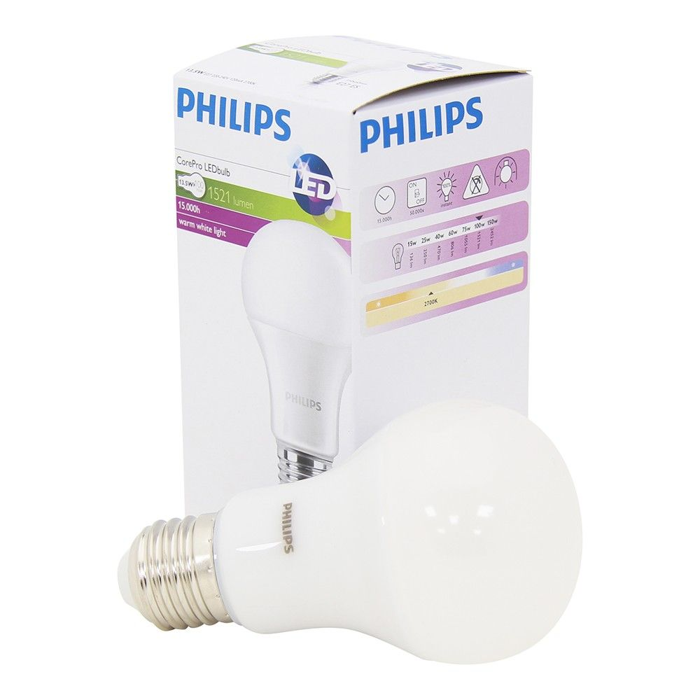 E27 Led 100w Led 100w Equivalent Replacement Bulb Instant Light Edison Screw E27 Philips