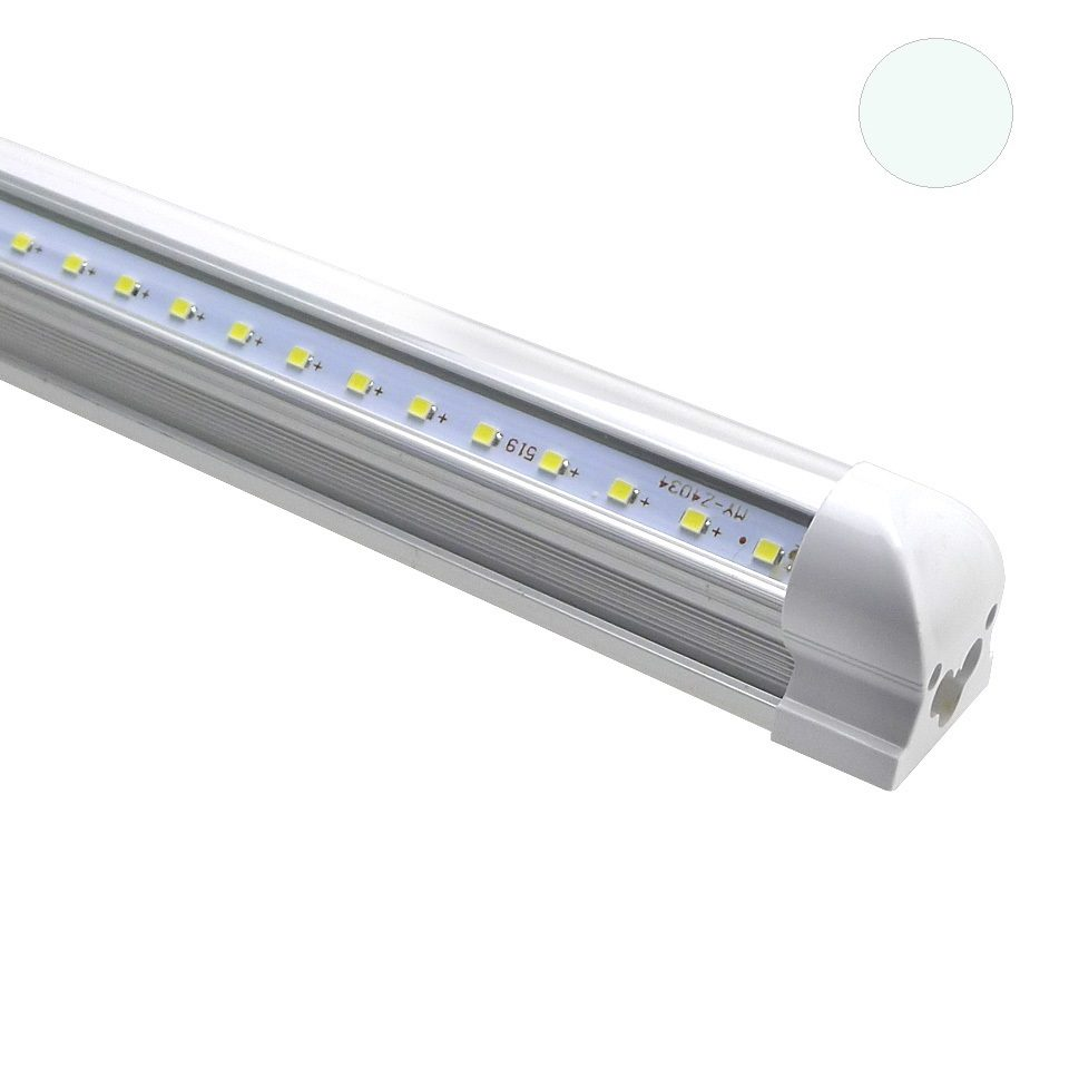 Led Tl Verlichting Led Tl Armatuur T8 120 Cm Koud Wit Extra Helder Transparant