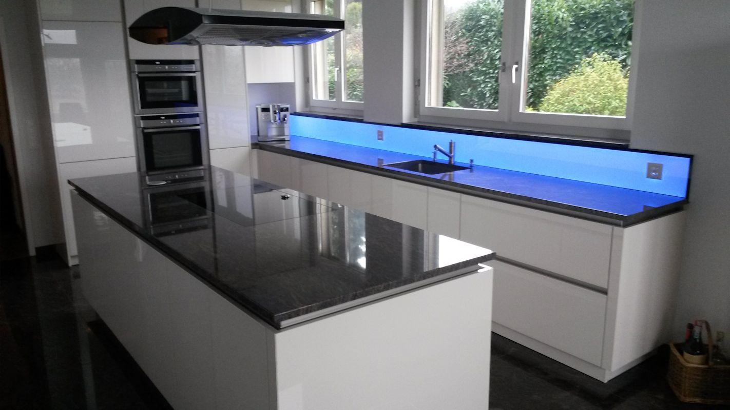 Led Panel Kuchenruckwand Kuchenruckwand Led Licht Dimmen Farben