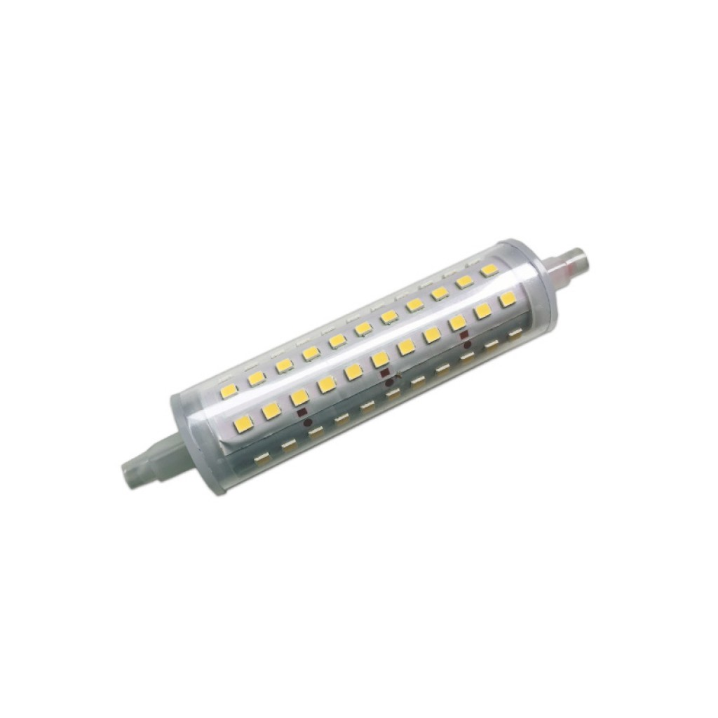Lampara R7s Bajo Consumo Bombilla Led R7s 118 Mm Regulable