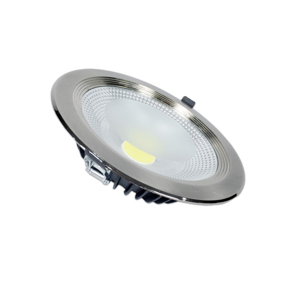 Luces Downlight Led Downlight Led 30w Luz Cálida Neutra O Blanca 2400 Lúmenes