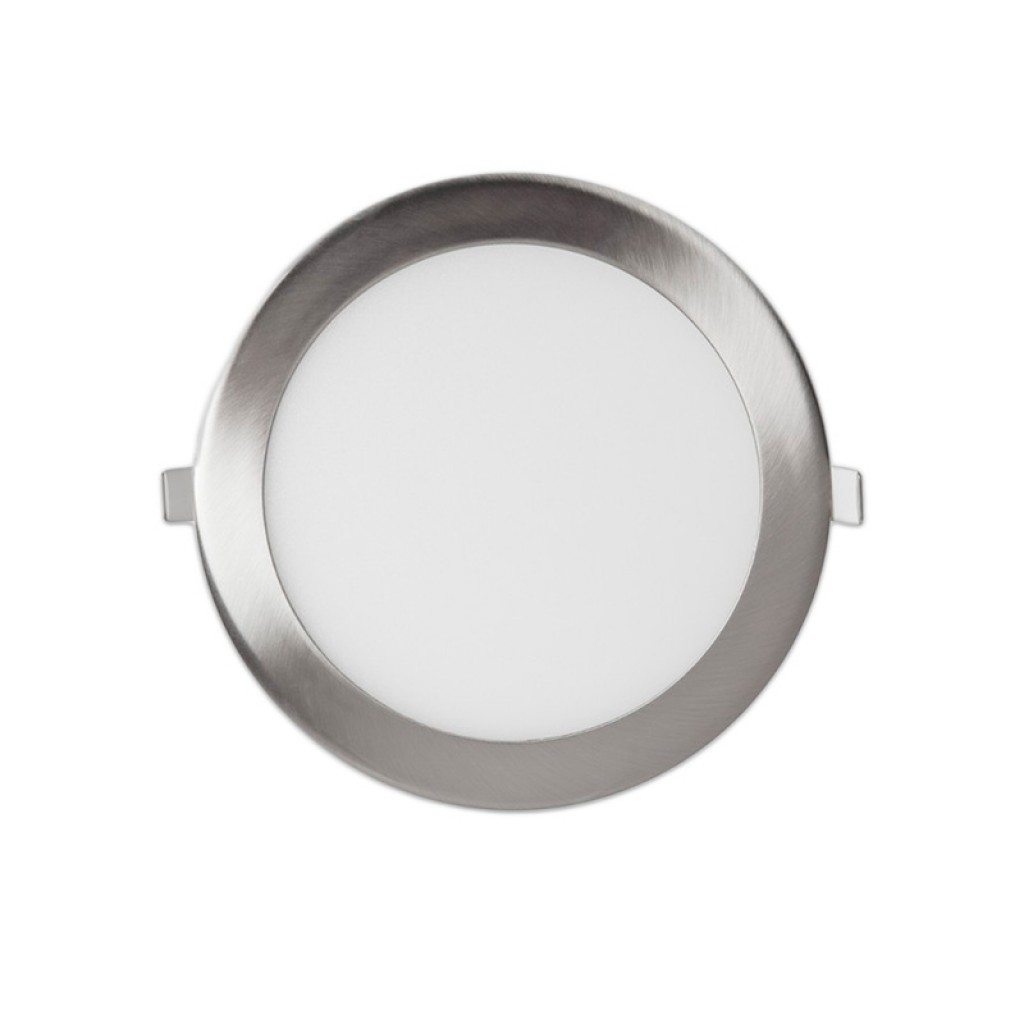 Luces Downlight Led Downlight Led 18w 1400 Lúmenes Níquel Luz Blanca Y Neutra