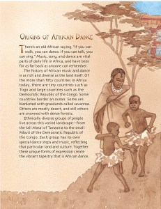 """Origins of African Dance"" excerpt from Drumbeat In Our Feet"
