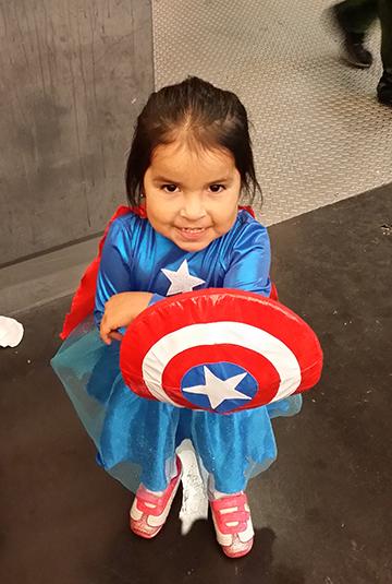 baby captain america